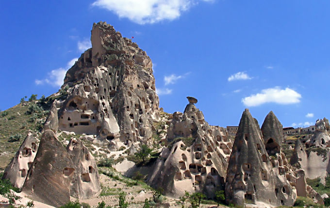 Ortahisar Castle and Village