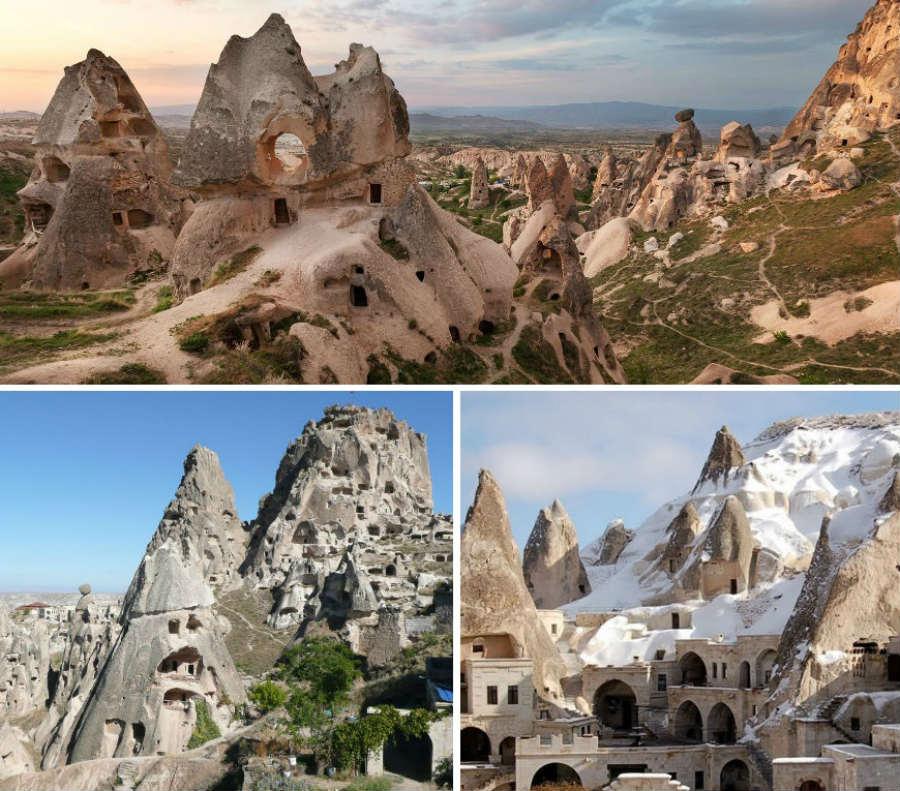 Uchisar Castle, Cappadocia - Ephesus Tours