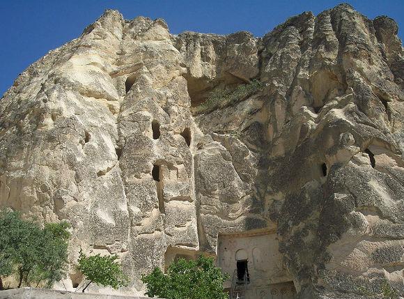 Carikli Kilise (The Church with Sandals) Goreme-Cappadocia