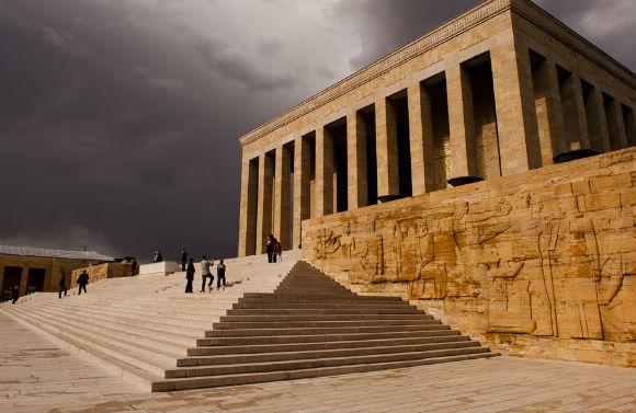 Anıtkabir, Atatürk's mausoleum.