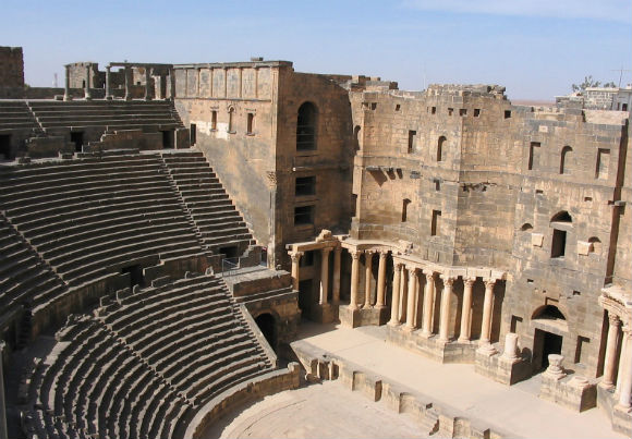 The Roman Theatre in Aspendos has been preserved remarkably well.
