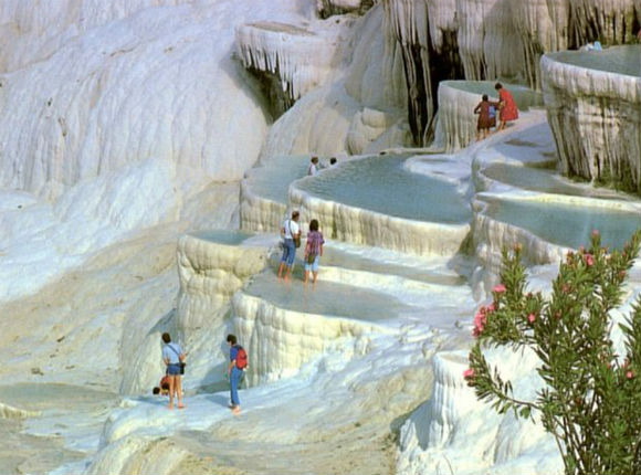 The pools of Pamukkale