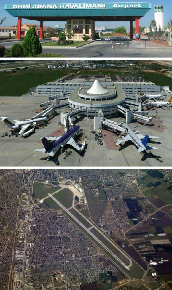Adana Turkey Airport ( Şakirpaşa  Airport Adana)