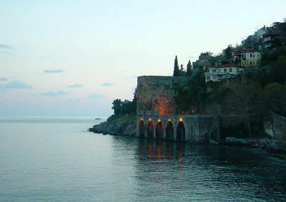The Seljuk era Tersane was a drydock for ships.