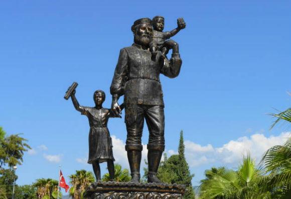 Statue of St. Nicholas, Demre Turkey
