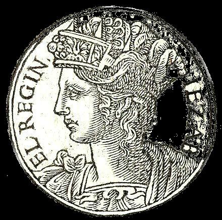 """Jezebel from """"Promptuarii Iconum Insigniorum """""""