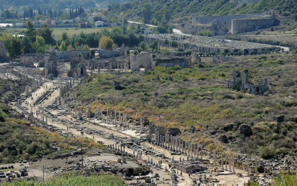 Overview of Perge (Perga)
