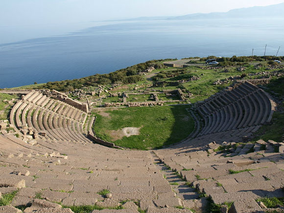 The Ancient Theatre of Assos.