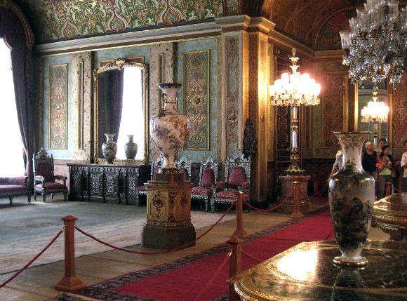 Beylerbeyi Palace  Interior.