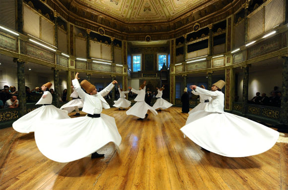 The 'dance' of the Whirling Dervishes is called Sema and is a part of the inspiration of Mevlana and has become part of Turkish custom, history, beliefs and culture.
