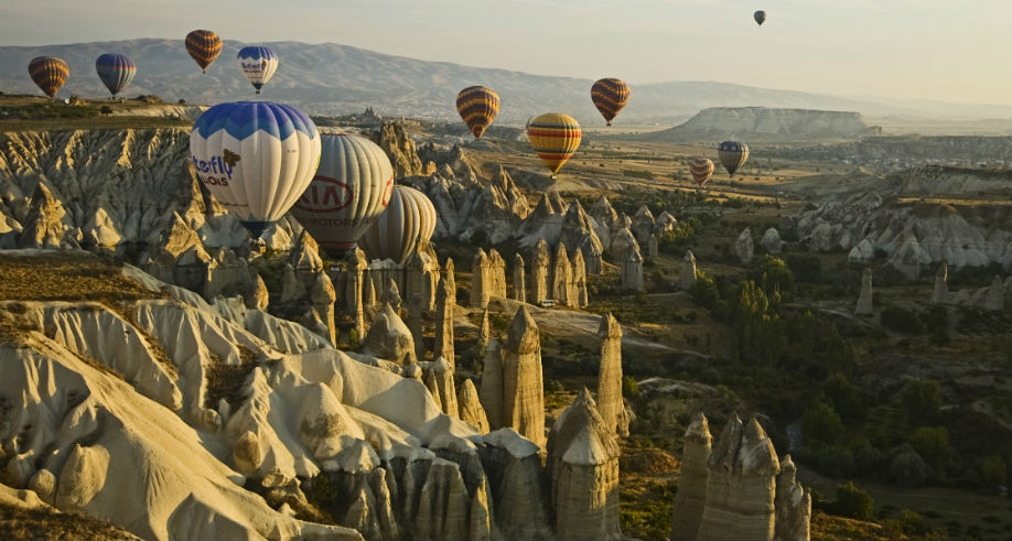 Ballooning in Love Valley Cappadocia
