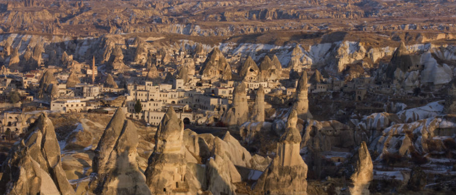 Panoramic viewpoint  and wonderful landscape of Esentepe Village