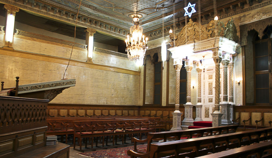 Inside Samanpazari Synagogue