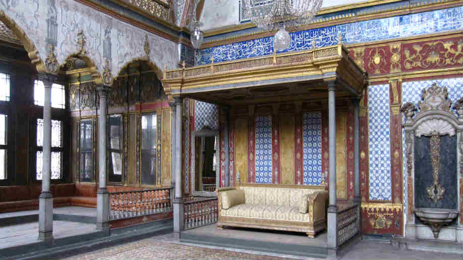 The Imperial Harem Topkapi Palace in Istanbul