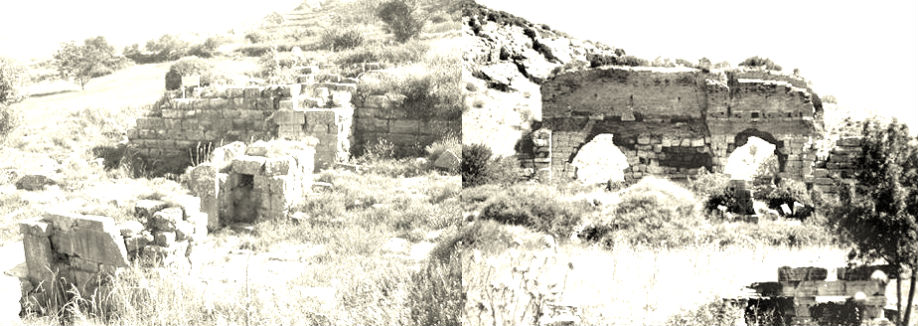 Magnesia Gate and City Walls. Ephesus