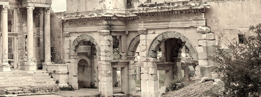Mercantile Agora and Gate of Mazeus, Ephesus