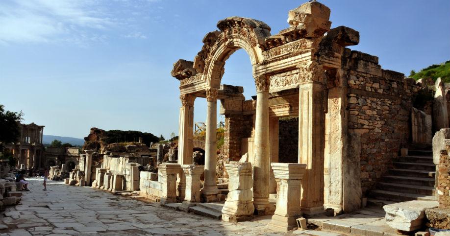 Temple of Hadrian - Ephesus Tours