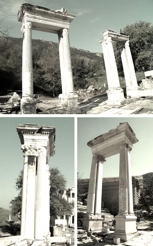 gate of hadrian in ephesus
