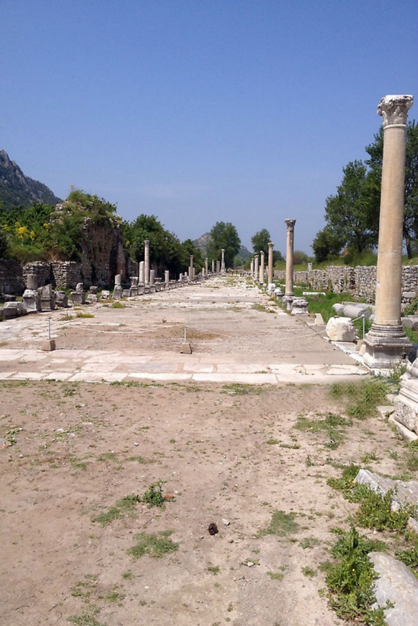 Harbour Street in Ephesus