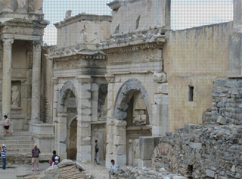 Gate of Mazeus Ephesus Turkey