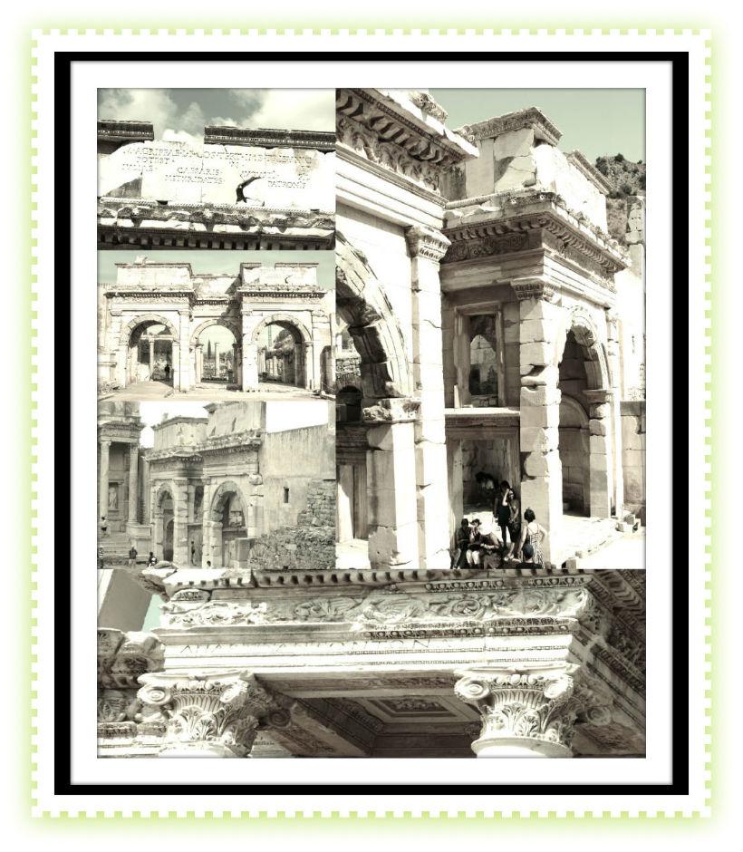 Gate of Mazeus in Ephesus