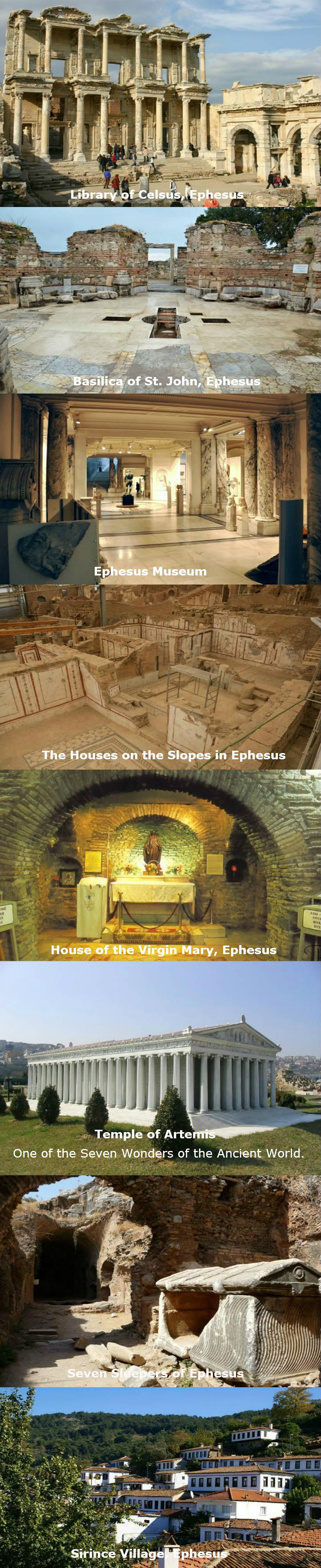 must see in ephesus tours from kusadasi