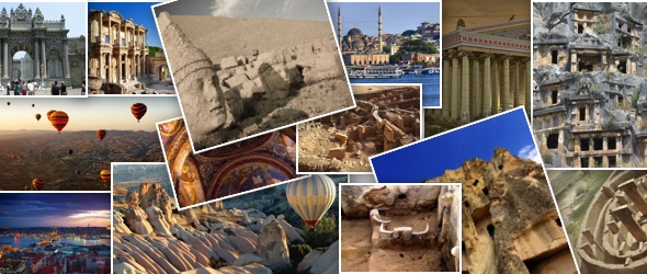 historic and touristic places Turkey