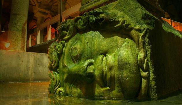 "The Basilica Cistern (""Underground-Sunken Palace"")"